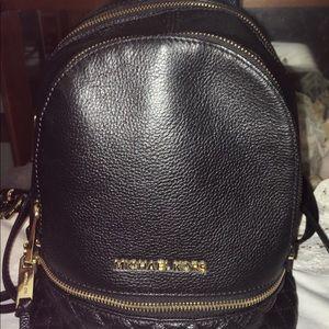 Michael Kors Leather Backpack Bag